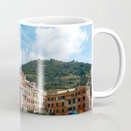 Cinque Terre, Vernazza Village | Mediterranean Coast, Italy | Pastel colorful travel photography in Europe | Art Print Coffee Mug
