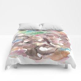Watercolor Carrousel Comforters