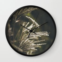 October plumage Wall Clock