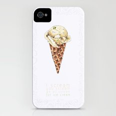 Ice cream iPhone (4, 4s) Slim Case