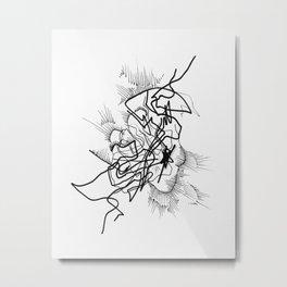 Crackle Pop Metal Print