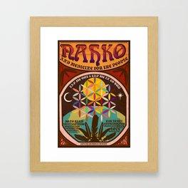 Nahko & Medicine for the People | Fan Made Poster Framed Art Print