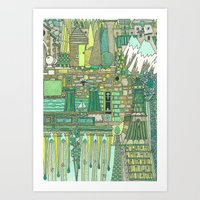 DREAM SCHEME 7 Art Print