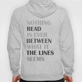 Between the Lines Hoody