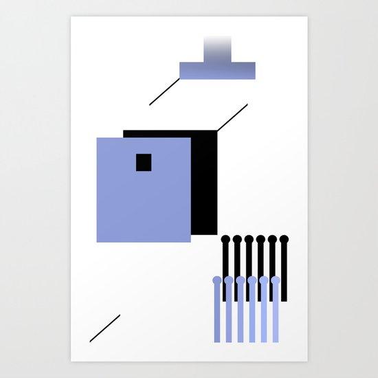 haus 2 Art Print
