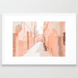 Marrakech Medina Framed Art Print