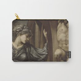 Edward Burne-Jones - The Wheel Of Fortune Carry-All Pouch