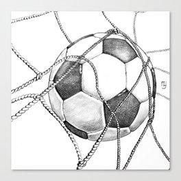 Goal! Canvas Print