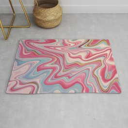 Cherry and Bubblegum Rug