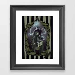 Tragically Ever After: Severus Snape Framed Art Print