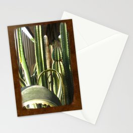 Cactus Garden Blank P3F0 Stationery Cards