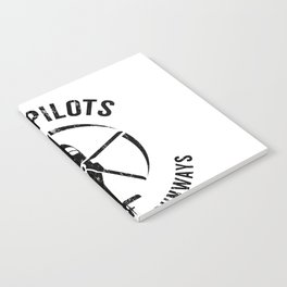 Real Pilots Don't Need Runways Shirt,Pilot Helicopter Notebook