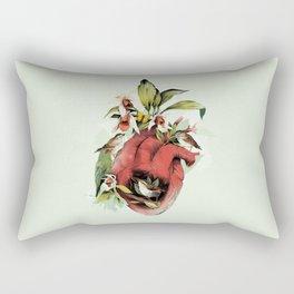 Heart Of Birds Rectangular Pillow