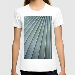 silver palm frond T-shirt