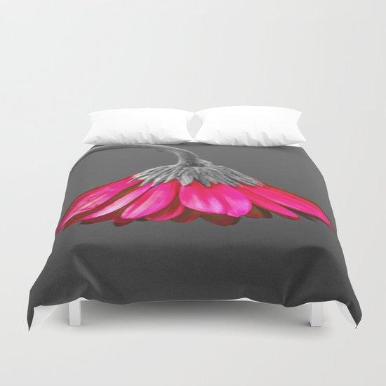 Flower   Flowers   Melancholia   Drooping Flower Duvet Cover