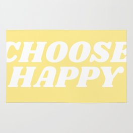 choose happy Rug
