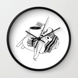 Big Breakfast Wall Clock