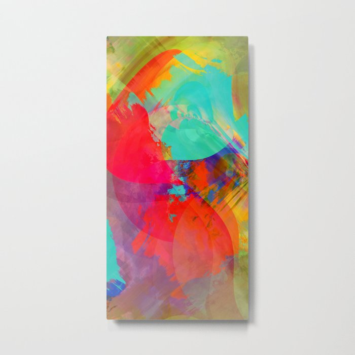 Multicolored abstract no. 27 Metal Print