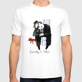 Sincerely, L. Cohen T-shirt