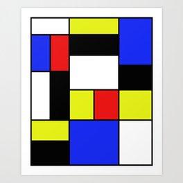 Mondrian #20 Art Print
