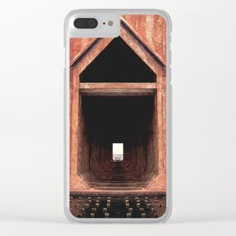 Old Iron Ore Dock Clear iPhone Case