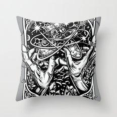 cat's cradle - vonnegut Throw Pillow