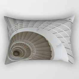 the spiral (architecture) Rectangular Pillow