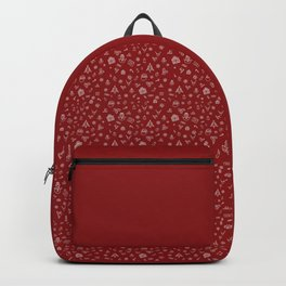Xmas Red Backpack