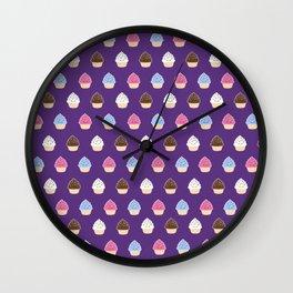 Cupcake Party Wall Clock