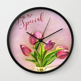 You Are Special Wall Clock