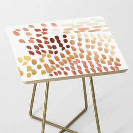 Colorful City Dots Side Table