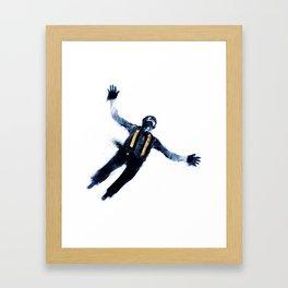 Fly Shot Framed Art Print