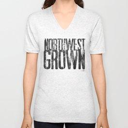 NORTHWEST GROWN Unisex V-Neck
