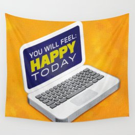 Computer Emotions Wall Tapestry