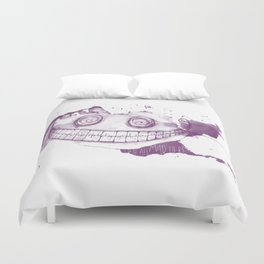 Welcome to Wonderland Duvet Cover