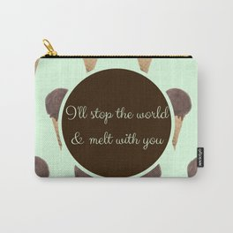 Melt With You (Mint) Carry-All Pouch