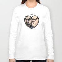 sterek Long Sleeve T-shirts featuring Sterek by lolbatty
