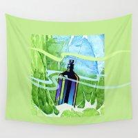 underwater Wall Tapestries featuring Underwater by Patricia Howitt