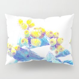 Pop Cactus Bloom #tropicalart #lifestyle #buyart Pillow Sham