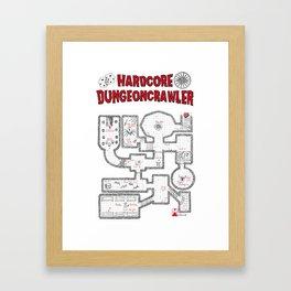 Hardcore Dungeoncrawler Framed Art Print
