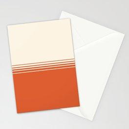 Marmalade & Crème Gradient Stationery Cards