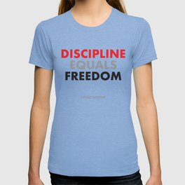 """Discipline Equals Freedom"" Jocko Willink T-shirt"