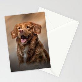 Nova Scotia Duck Tolling Retriever dog Stationery Cards