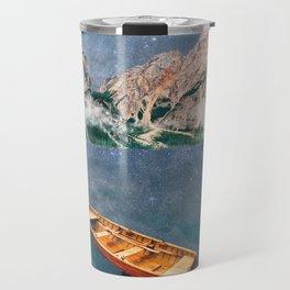 Space Lake at Pragser Wildsee Travel Mug
