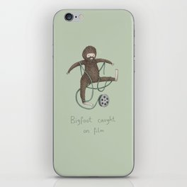 Bigfoot Caught on Film iPhone Skin