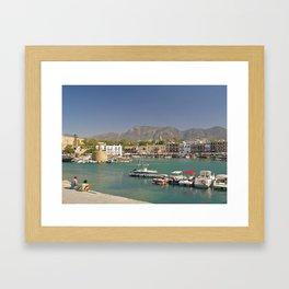 Kyrenia Harbour Framed Art Print