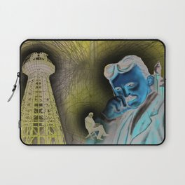 """""""(Tesla) A Man out of Time"""" Laptop Sleeve"""