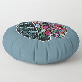 Brain Floor Pillow