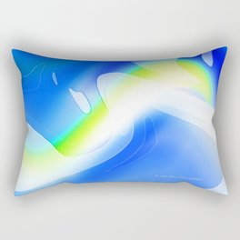 """'70's Lava Lamp"" Photograph Rectangular Pillow"