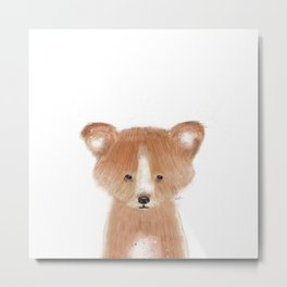 little red panda Metal Print